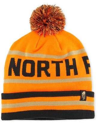 The North Face Men's Logo Ski Toque Beanie Hat with Pompom