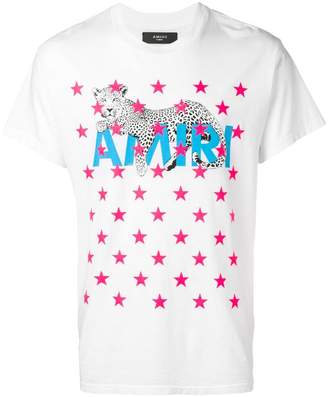 Amiri star print T-shirt