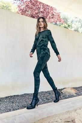 Rag Doll Ragdoll TIE DYE LEGGINGS Green Tie Dye