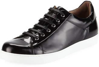 Gianvito Rossi Men's Leather Low-Top Sneakers