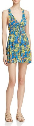 Free People Washed Ashore Mini Dress $98 thestylecure.com