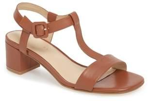 Grey City T-Strap Sandal