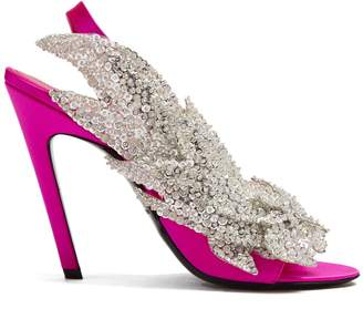 Balenciaga Talon Slash sandal
