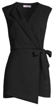 Parker Rose Wrap Side Tie Romper