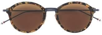 Thom Browne Eyewear round tortoiseshell sunglasses