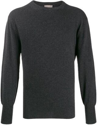 Oxford round neck jumper