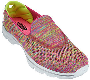 Skechers Gowalk 3 Fitknit Slip-on Sneakers - Tilt $70 thestylecure.com