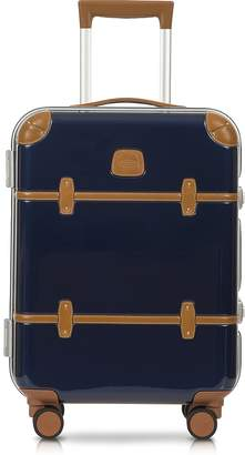 "Bric's Bellagio Metallo V2.0 21"" Blue Carry-On Spinner Trunk"