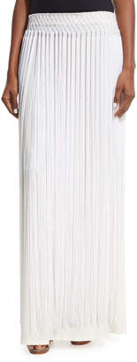 Opening Ceremony Long Fringe Maxi Skirt, White