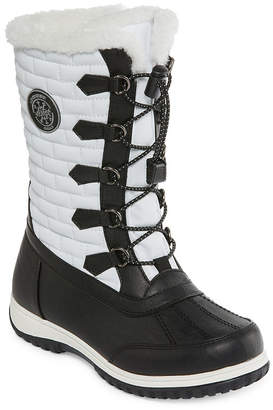 totes Womens Ember Waterproof Winter Boots Zip