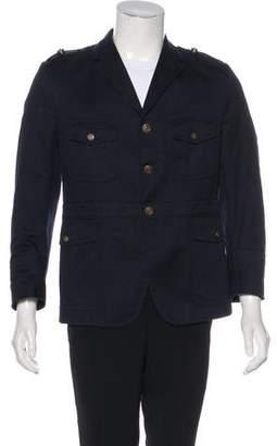Gucci Twill Military Jacket
