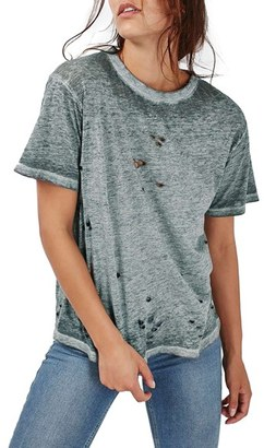Women's Topshop Distressed Tee $40 thestylecure.com