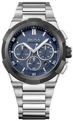 HUGO BOSS Men&s Supernova Chronograph Bracelet Watch $495 thestylecure.com
