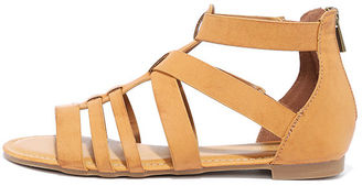Hot Item Tan Gladiator Sandals $21 thestylecure.com