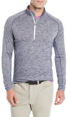 Peter Millar Men's Sydney Quarter-Zip Sweater