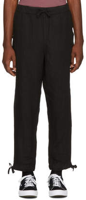 Saturdays NYC Black Linen Markus Trousers