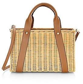 Kayu Women's Daisy Straw Crossbody Bag