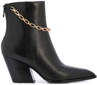 Stella Luna chain detail booties