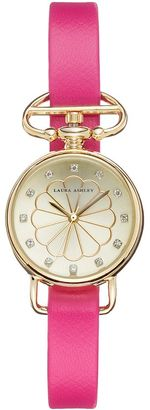 Laura Ashley Women's Crystal Watch $295 thestylecure.com