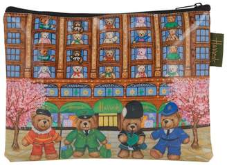 Harrods Knightsbridge Bears Travel Pouch