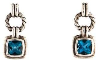 David Yurman Topaz Renaissance Drop Earrings