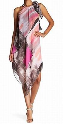 Rachel Roy Women's Brushed Square Printed Scarf Dress