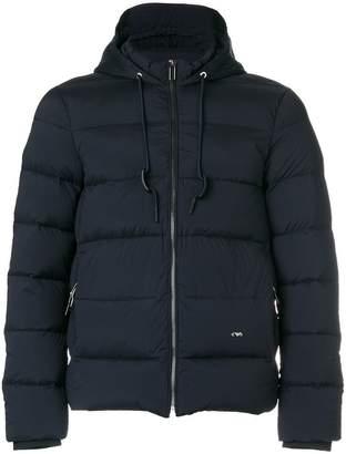 Emporio Armani padded hood jacket