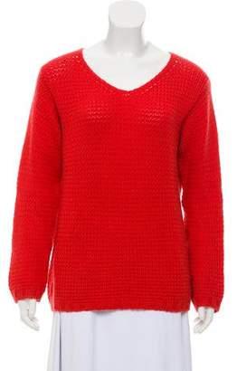 Loro Piana Rib Knit Cashmere Sweater