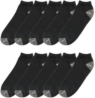Tek Gear Men's 10-pack Quarter Socks