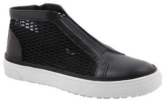 Delman McKay Side-Zip Sneakers $248 thestylecure.com