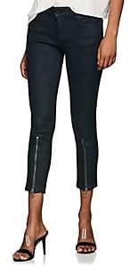 Dl 1961 Women's Florence Instasculpt Crop Jeans - Dk. Green Size 27