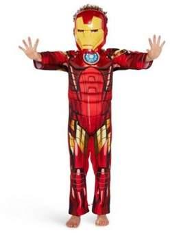 Marvel Avengers Iron Man Light-Up Dress-Up Costume 9-10 years