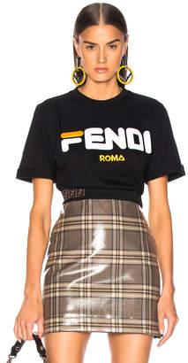 Fendi Mania Logo Tee