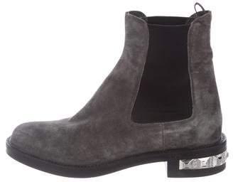 Miu Miu Suede Chelsea Boots