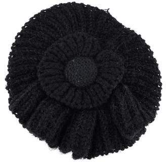 Sonia Rykiel Oversized Knit Flower Brooch