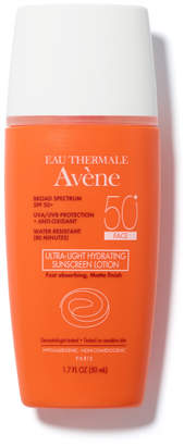 Eau Thermale Avene Ultra-Light Hydrating Sunscreen Lotion SPF 50 for Face