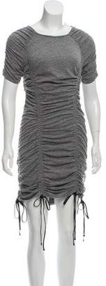 Cinq à Sept Short Sleeve Ruched Dress