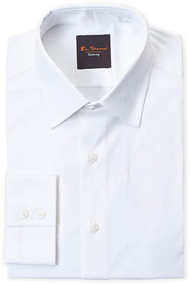 Ben Sherman White Stretch Slim Fit Dress Shirt