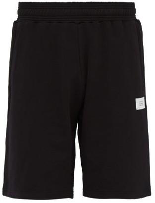 Givenchy Atelier Patch Cotton Shorts - Mens - Black
