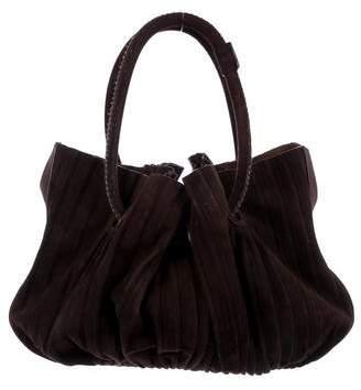 Giorgio Armani Pleated Shoulder Bag