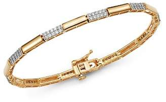 Bloomingdale's Diamond Link Bracelet in 14K Yellow Gold, 1.0 ct. t.w. - 100% Exclusive