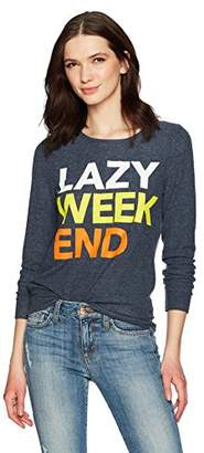Chaser Women's Love Knit Long Sleeve Pullover