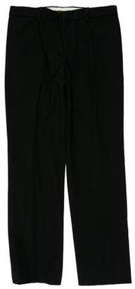 Burberry Wool Flat Front Dress Pants