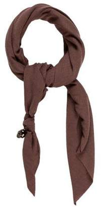 Donni Charm Woven Triangle Scarf