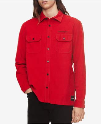 Calvin Klein Jeans Men's Corduroy Shirt