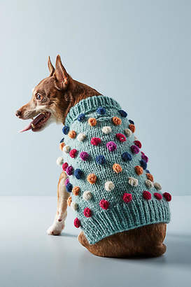 Love Thy Beast Pom Pom Dog Sweater