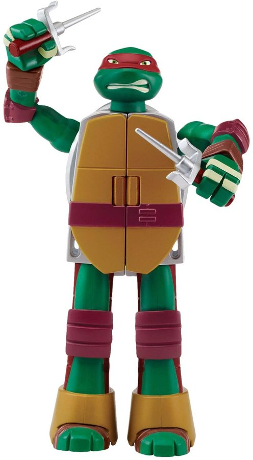 Teenage Mutant Ninja Turtles Figure to Weapon Mutation Toy Figure