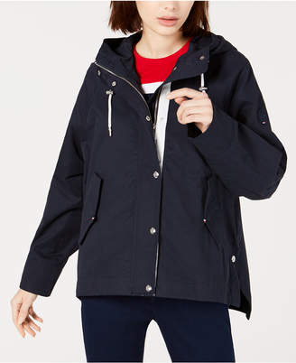 Tommy Hilfiger Cotton Hooded Anorak