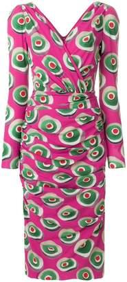 Dolce & Gabbana Cassata print midi dress