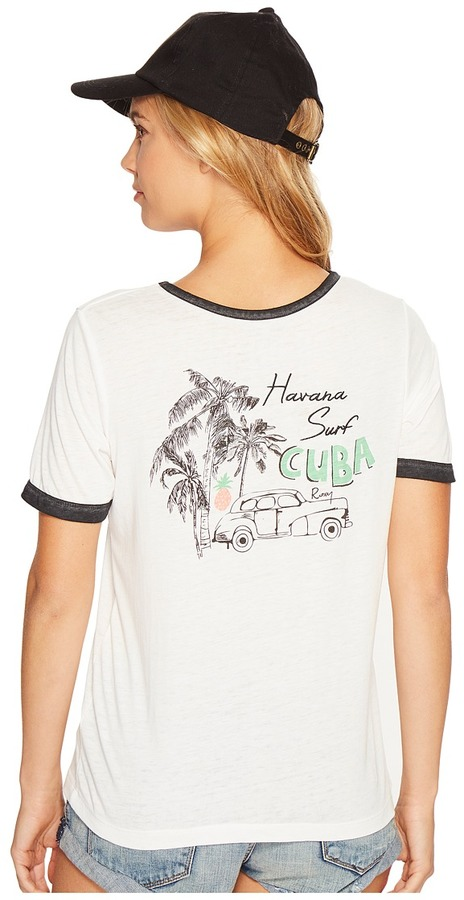 Roxy - Puerto Pic Cuba Times Shirt Women's T Shirt